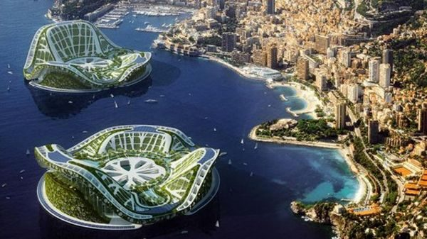 lilypad by vincentcallebeaut architects. A floating ecopolis near the coast