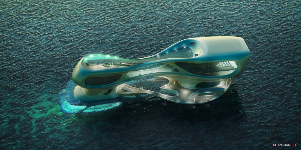 Bali marine research centre completion entry by Solus 4 design studio