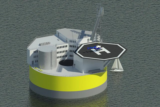 MIT Floating nuclear plant