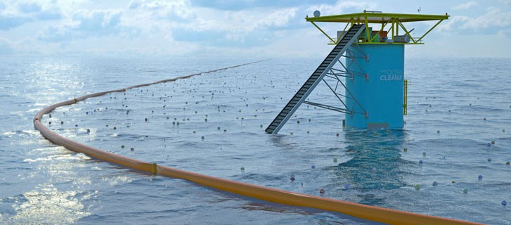 The ocean cleanup tower