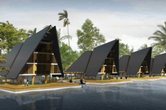floating jungle resort