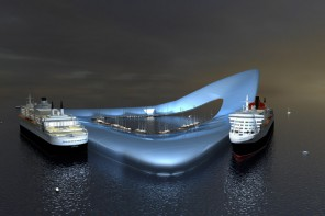 floating cruise terminal