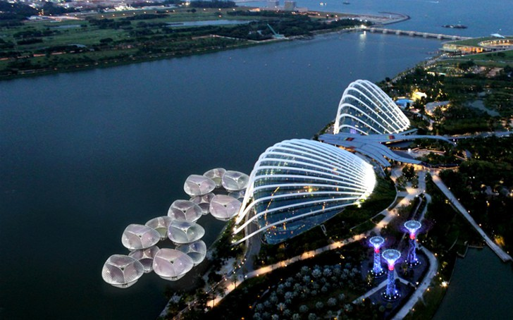 Singapore Sparck Orchid floating food market
