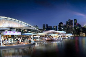 Singapore floating food market