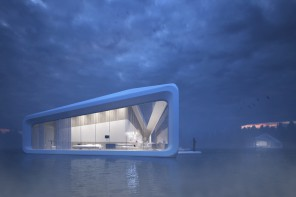 Floating hotel concept Nessy in Norway