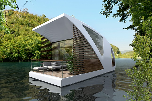 floating hotel catamaran apartments