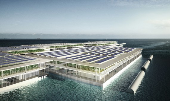Smart Floating Farms by Forward Thinking Architecture