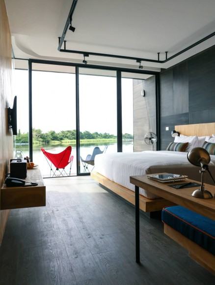 X2 River Kwai Resort x float Thailand Bedroom