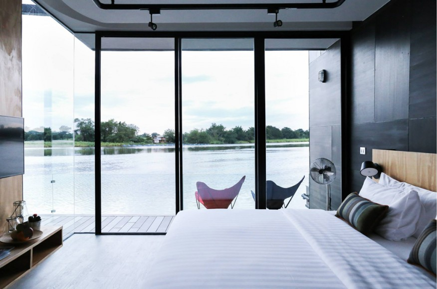 X2 River Kwai Resort x float Thailand River view